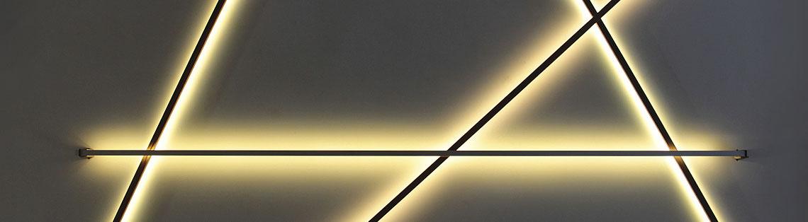 Rubrik Lichtstab Leuchte