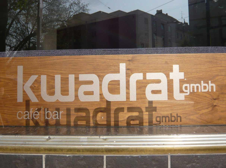 Cafe KWADRAT  Düsseldorf Blücherstrase