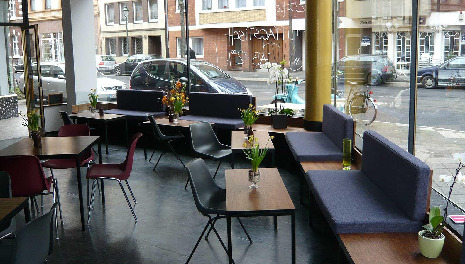 Sitzbänke und Tische Kwadrat